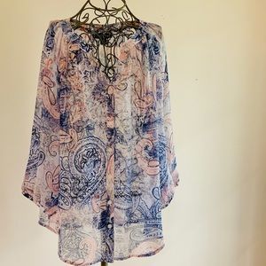 Paisley Pattern Blouse